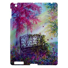 Bench In Spring Forest Apple Ipad 3/4 Hardshell Case