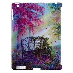 Bench In Spring Forest Apple Ipad 3/4 Hardshell Case (compatible With Smart Cover)