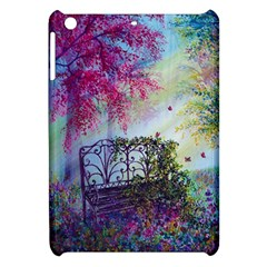 Bench In Spring Forest Apple iPad Mini Hardshell Case