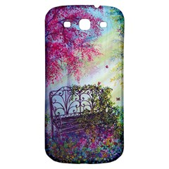 Bench In Spring Forest Samsung Galaxy S3 S III Classic Hardshell Back Case