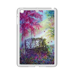 Bench In Spring Forest Ipad Mini 2 Enamel Coated Cases
