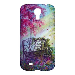 Bench In Spring Forest Samsung Galaxy S4 I9500/i9505 Hardshell Case