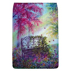 Bench In Spring Forest Flap Covers (l)