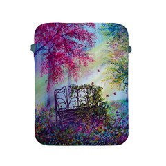 Bench In Spring Forest Apple iPad 2/3/4 Protective Soft Cases