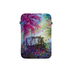 Bench In Spring Forest Apple iPad Mini Protective Soft Cases