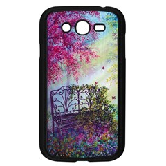 Bench In Spring Forest Samsung Galaxy Grand Duos I9082 Case (black)