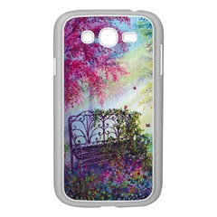 Bench In Spring Forest Samsung Galaxy Grand DUOS I9082 Case (White)