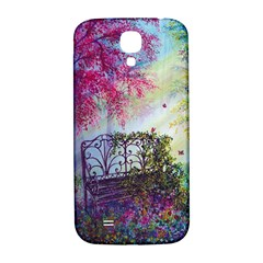 Bench In Spring Forest Samsung Galaxy S4 I9500/i9505  Hardshell Back Case