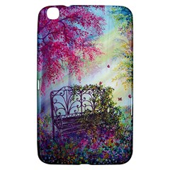 Bench In Spring Forest Samsung Galaxy Tab 3 (8 ) T3100 Hardshell Case