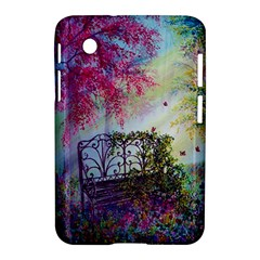 Bench In Spring Forest Samsung Galaxy Tab 2 (7 ) P3100 Hardshell Case