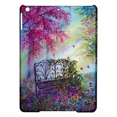 Bench In Spring Forest Ipad Air Hardshell Cases