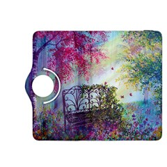 Bench In Spring Forest Kindle Fire HDX 8.9  Flip 360 Case
