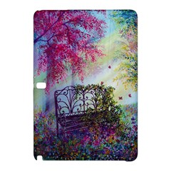 Bench In Spring Forest Samsung Galaxy Tab Pro 10.1 Hardshell Case