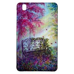 Bench In Spring Forest Samsung Galaxy Tab Pro 8 4 Hardshell Case