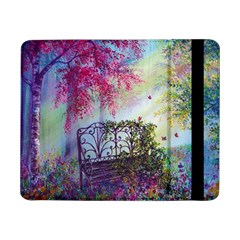 Bench In Spring Forest Samsung Galaxy Tab Pro 8 4  Flip Case
