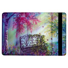 Bench In Spring Forest iPad Air Flip
