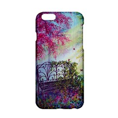 Bench In Spring Forest Apple Iphone 6/6s Hardshell Case