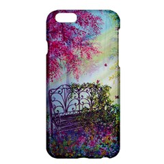 Bench In Spring Forest Apple Iphone 6 Plus/6s Plus Hardshell Case