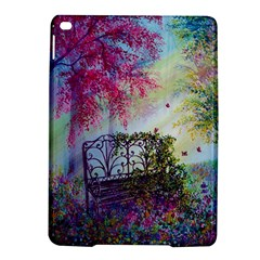 Bench In Spring Forest iPad Air 2 Hardshell Cases