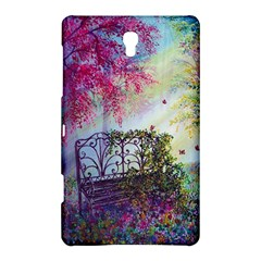 Bench In Spring Forest Samsung Galaxy Tab S (8 4 ) Hardshell Case
