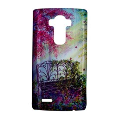 Bench In Spring Forest LG G4 Hardshell Case