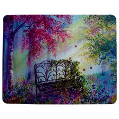 Bench In Spring Forest Jigsaw Puzzle Photo Stand (rectangular)