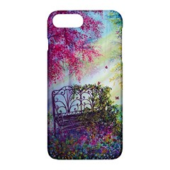 Bench In Spring Forest Apple Iphone 7 Plus Hardshell Case
