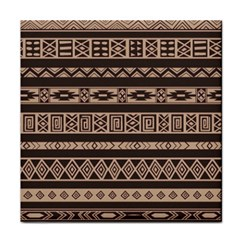 Ethnic Pattern Vector Tile Coasters