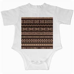 Ethnic Pattern Vector Infant Creepers