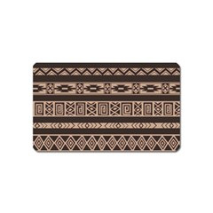 Ethnic Pattern Vector Magnet (name Card)
