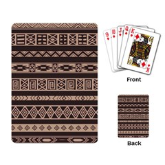Ethnic Pattern Vector Playing Card