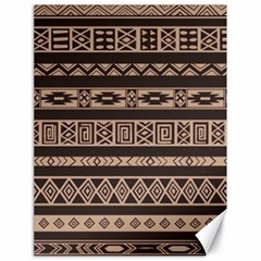 Ethnic Pattern Vector Canvas 18  X 24