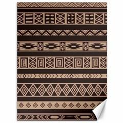Ethnic Pattern Vector Canvas 36  X 48