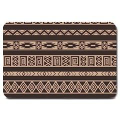 Ethnic Pattern Vector Large Doormat