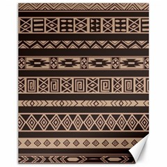 Ethnic Pattern Vector Canvas 11  X 14