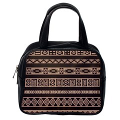 Ethnic Pattern Vector Classic Handbags (one Side)