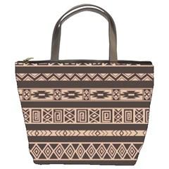 Ethnic Pattern Vector Bucket Bags