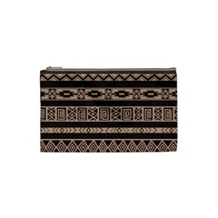Ethnic Pattern Vector Cosmetic Bag (small)