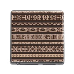 Ethnic Pattern Vector Memory Card Reader (square)