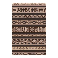Ethnic Pattern Vector Shower Curtain 48  X 72  (small)