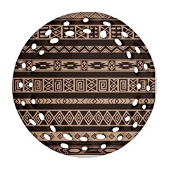 Ethnic Pattern Vector Ornament (round Filigree)