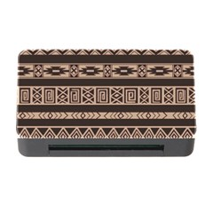 Ethnic Pattern Vector Memory Card Reader With Cf