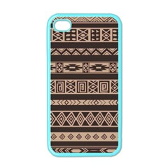 Ethnic Pattern Vector Apple iPhone 4 Case (Color)