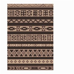 Ethnic Pattern Vector Small Garden Flag (two Sides)
