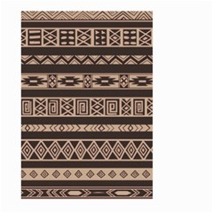 Ethnic Pattern Vector Large Garden Flag (two Sides)