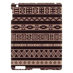 Ethnic Pattern Vector Apple Ipad 3/4 Hardshell Case