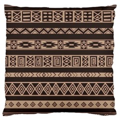 Ethnic Pattern Vector Large Cushion Case (one Side)