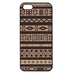 Ethnic Pattern Vector Apple Iphone 5 Seamless Case (black)