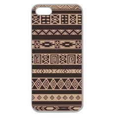 Ethnic Pattern Vector Apple Seamless Iphone 5 Case (clear)