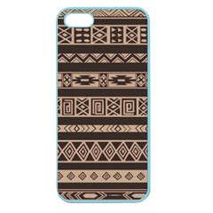 Ethnic Pattern Vector Apple Seamless Iphone 5 Case (color)